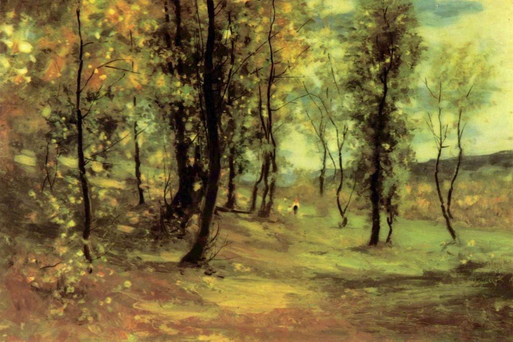 Николае Григореску. Просека в лесу