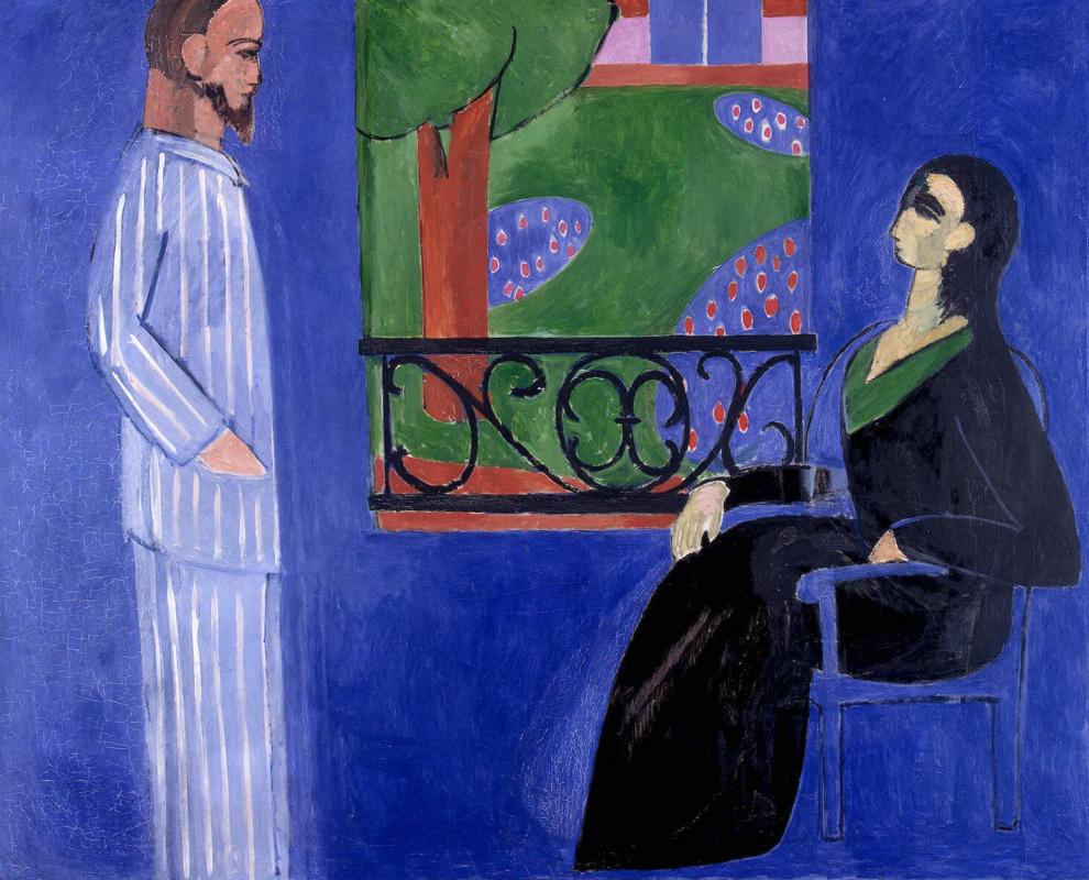Henri Matisse. The conversation