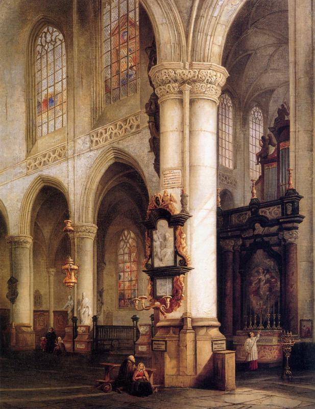 Йоханнес Босбум. Церковь  Св. Якова в Антверпене