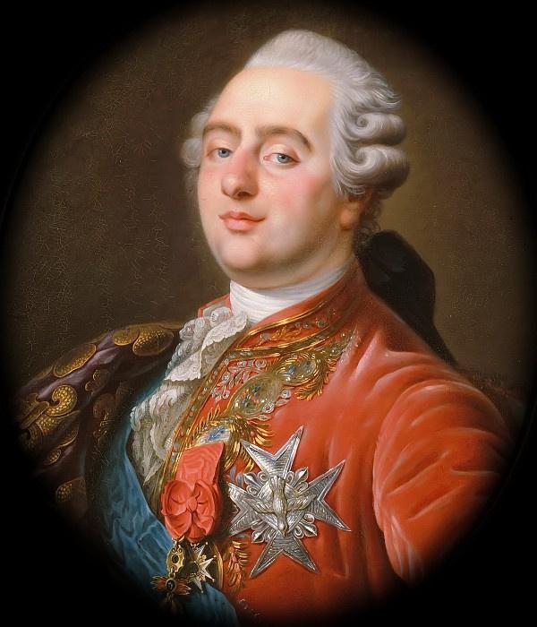 Портрет Людовика XVI, короля Франции и Наварры