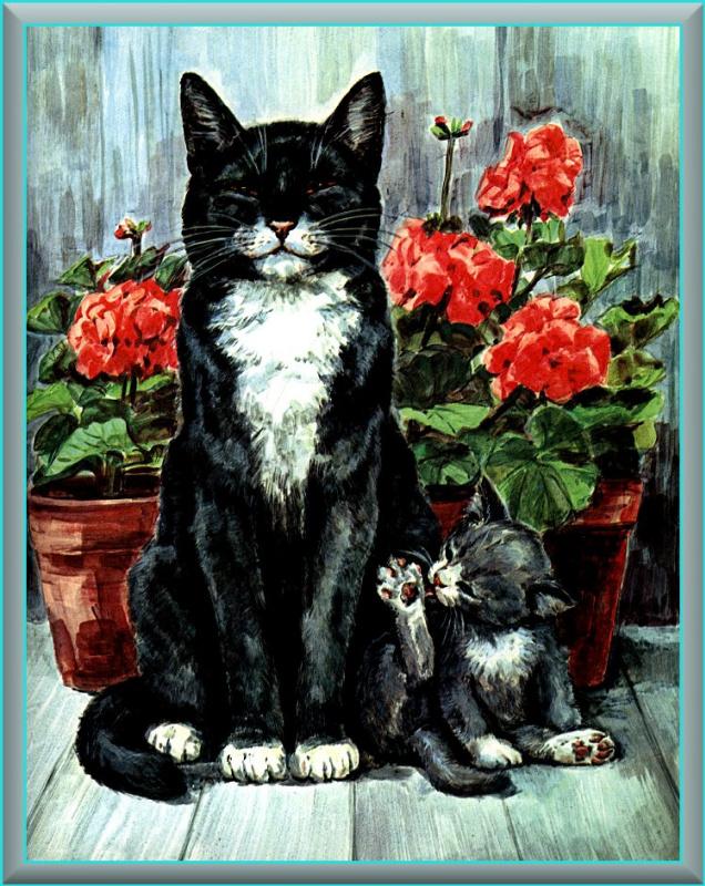 Мардж Опиц Буридг. Кошачье искусство 13