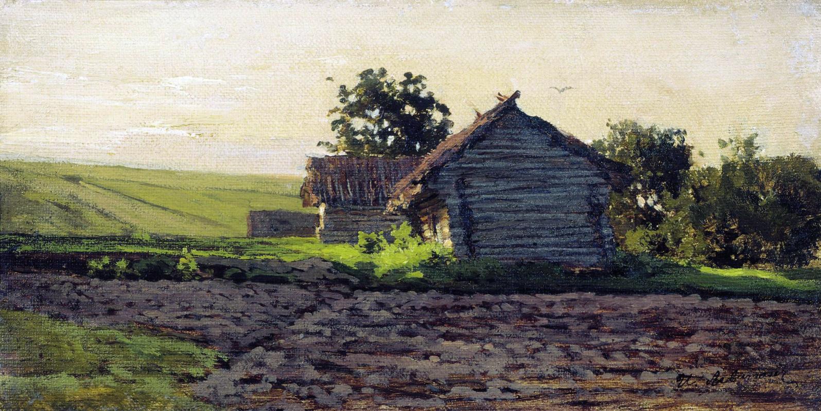 Исаак Ильич Левитан. Саввинская слобода