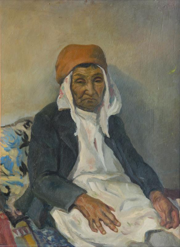 Ильяс Васыгович Усманов. Портрет бабушки