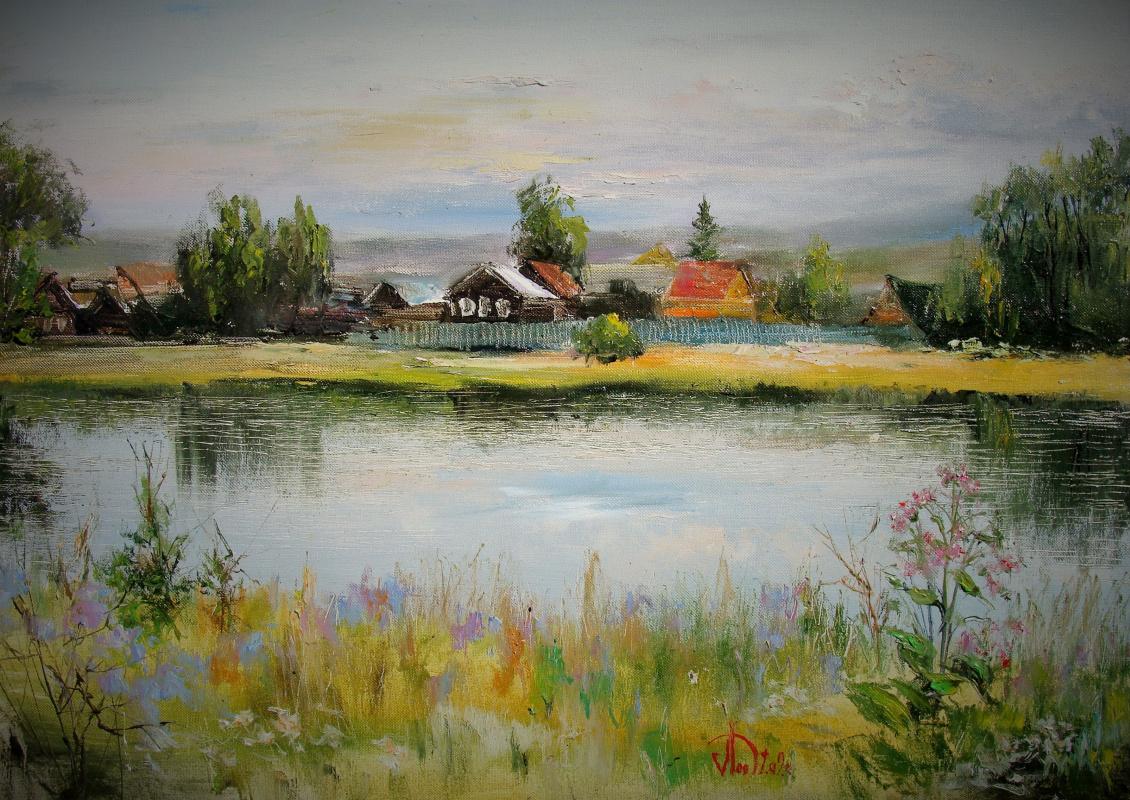 Alexander Alekseevich Lednev. In a calm flow
