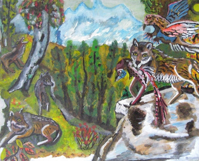 Alexander Aleksandrovich White. Hunting