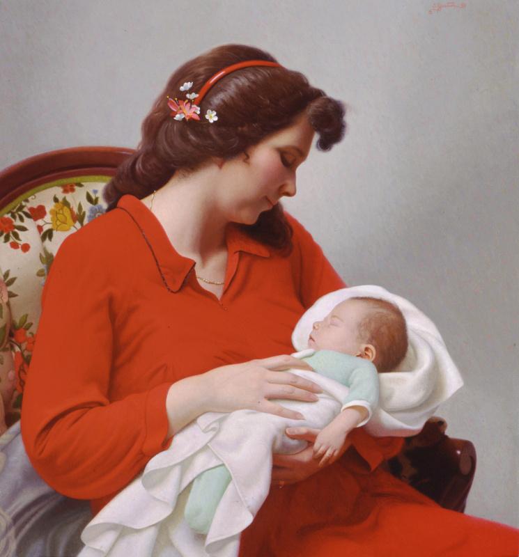 Стивен Гджертсон. Новорожденный