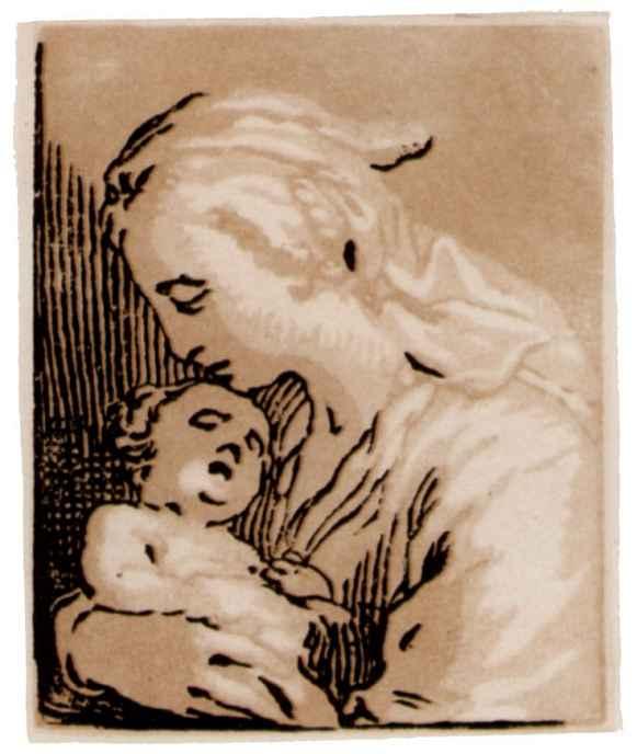 Абрахам Блумарт. Мадонна с младенцем