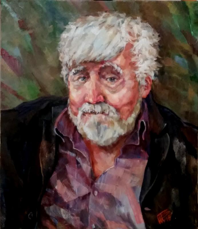 Vladimir Nikitovich Shmuratko. Artist Yury Zhuravlev