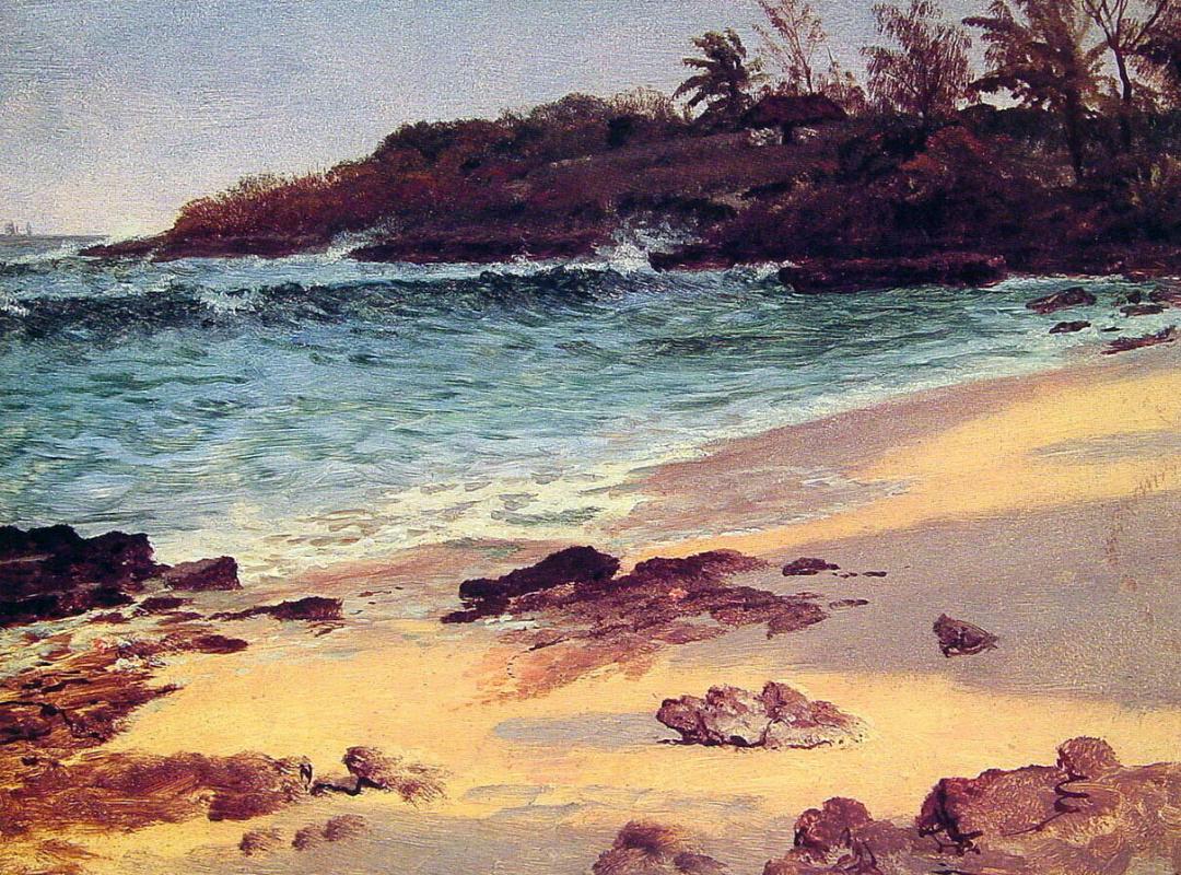 Альберт Бирштадт. Багамская бухта