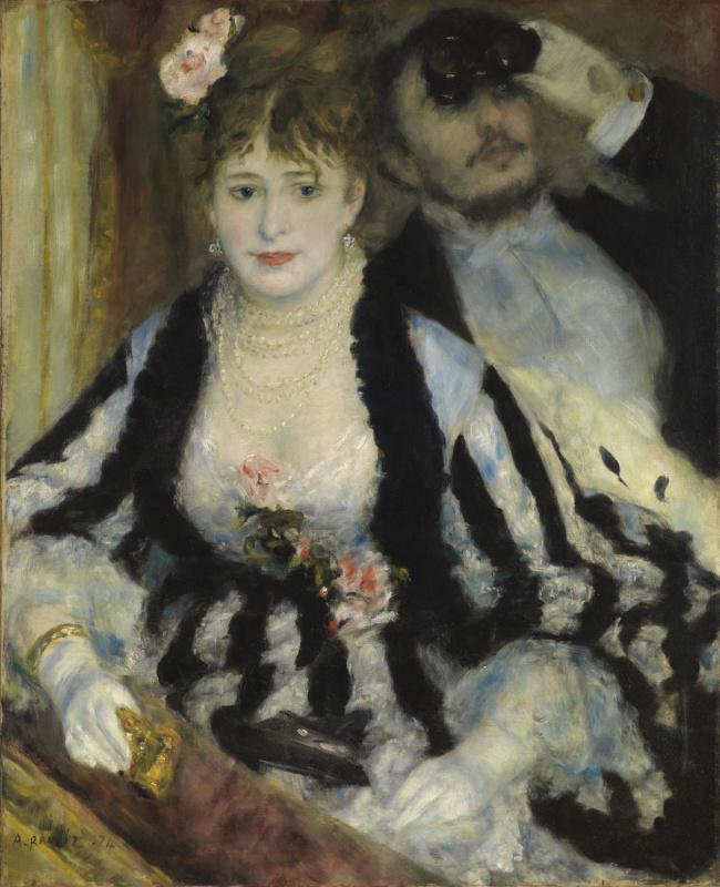 Pierre-Auguste Renoir. Bed