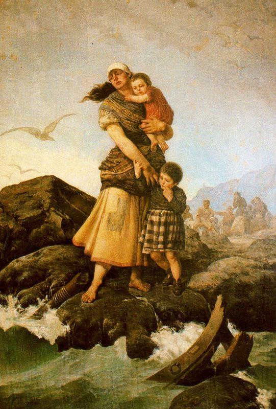 Альварес Арместо. Мать с двумя детьми