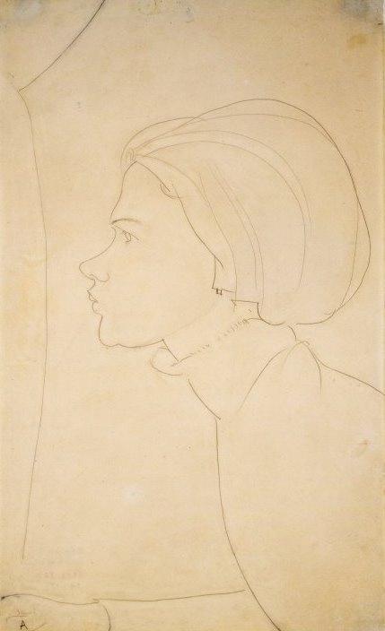 Amedeo Modigliani. Profile girls