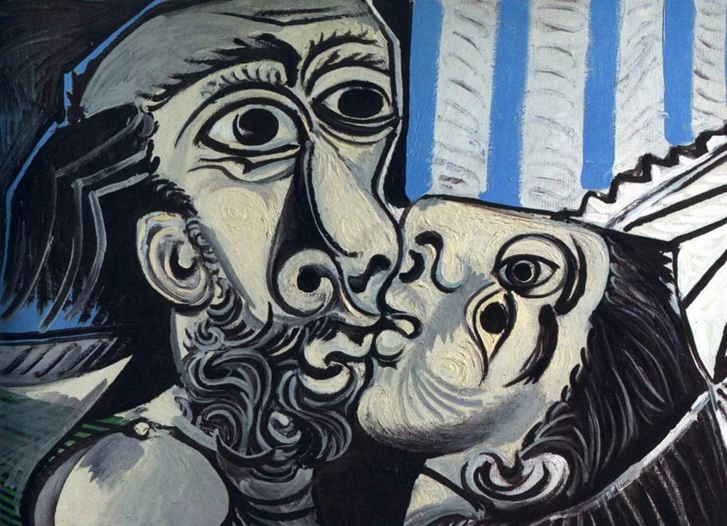 Пабло Пикассо. Поцелуй