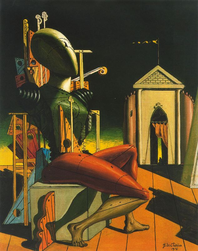 Джорджо де Кирико. Робот