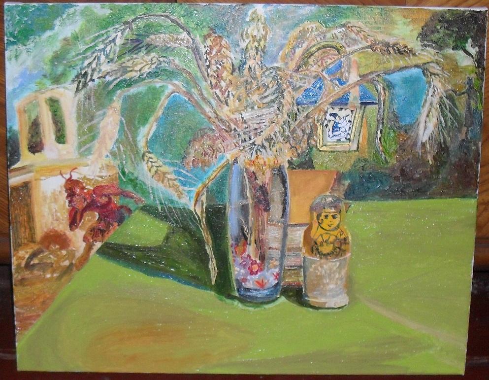 Пшеничный натюрморт.
