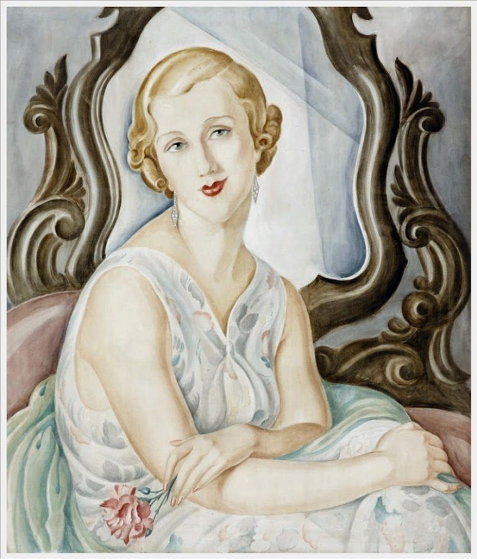 Gerda Wegener. The woman in the mirror