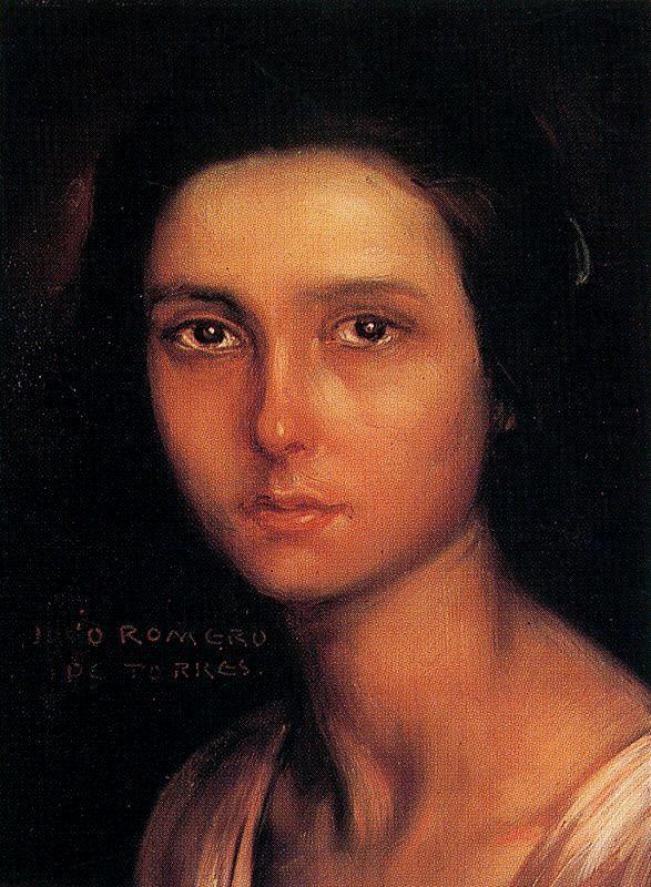 Хулио Ромеро де Торрес. Портрет