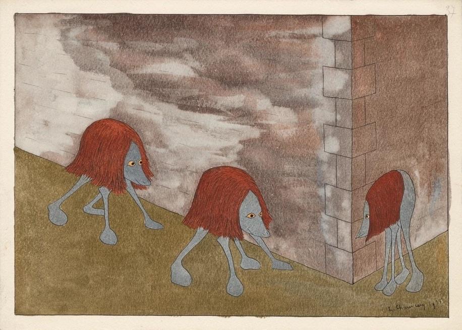 Leopold Chauot. Monstrous Landscape No. 37