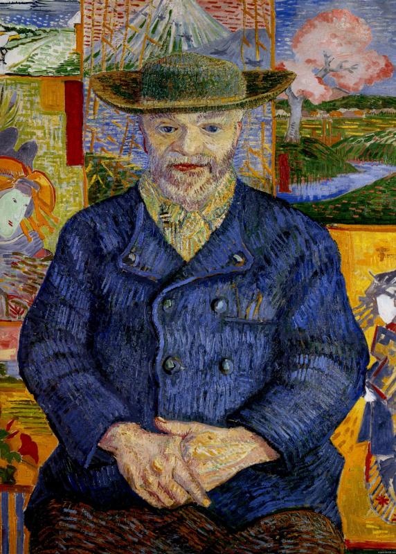 Vincent van Gogh. Portrait Of Père Tanguy