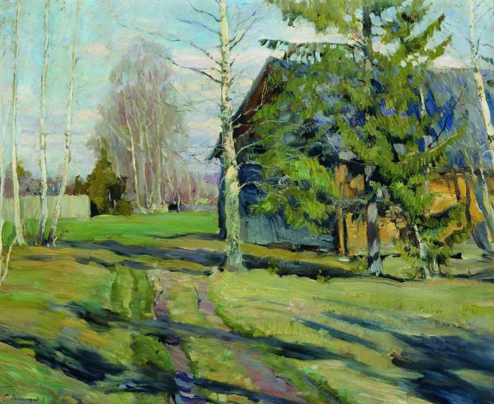 Sergey Arsenievich Vinogradov. Spring