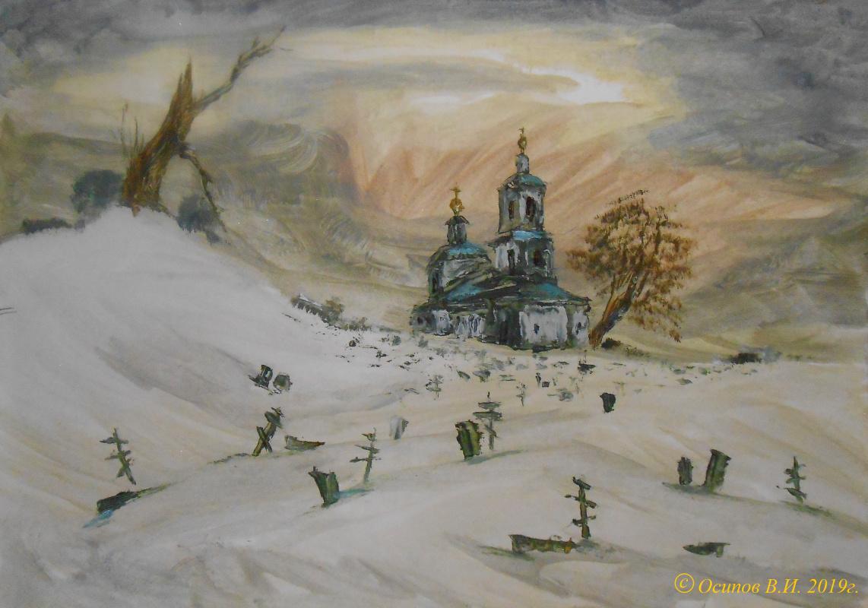 Владимир Иванович Осипов. Unnamed snowdrops