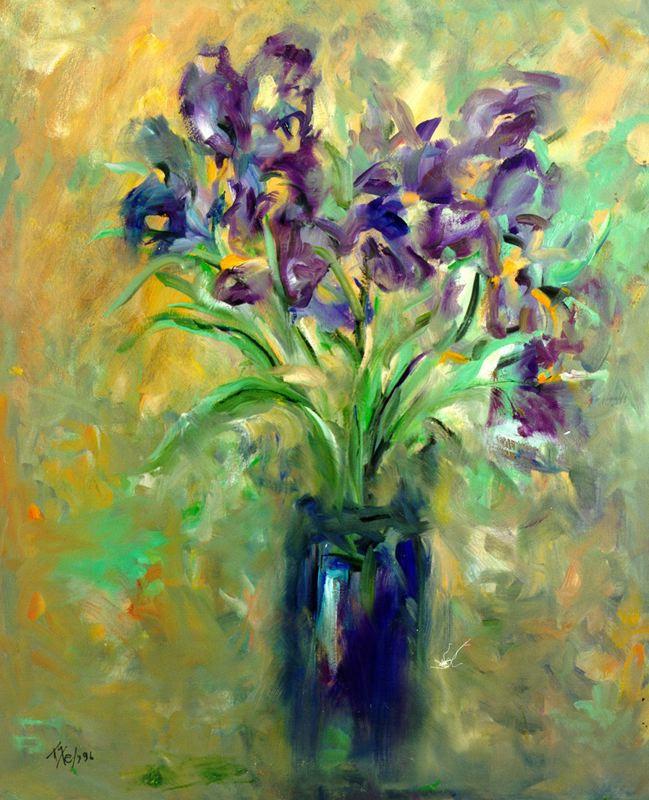 Мари Ромеро Кампо. Букет цветов 10