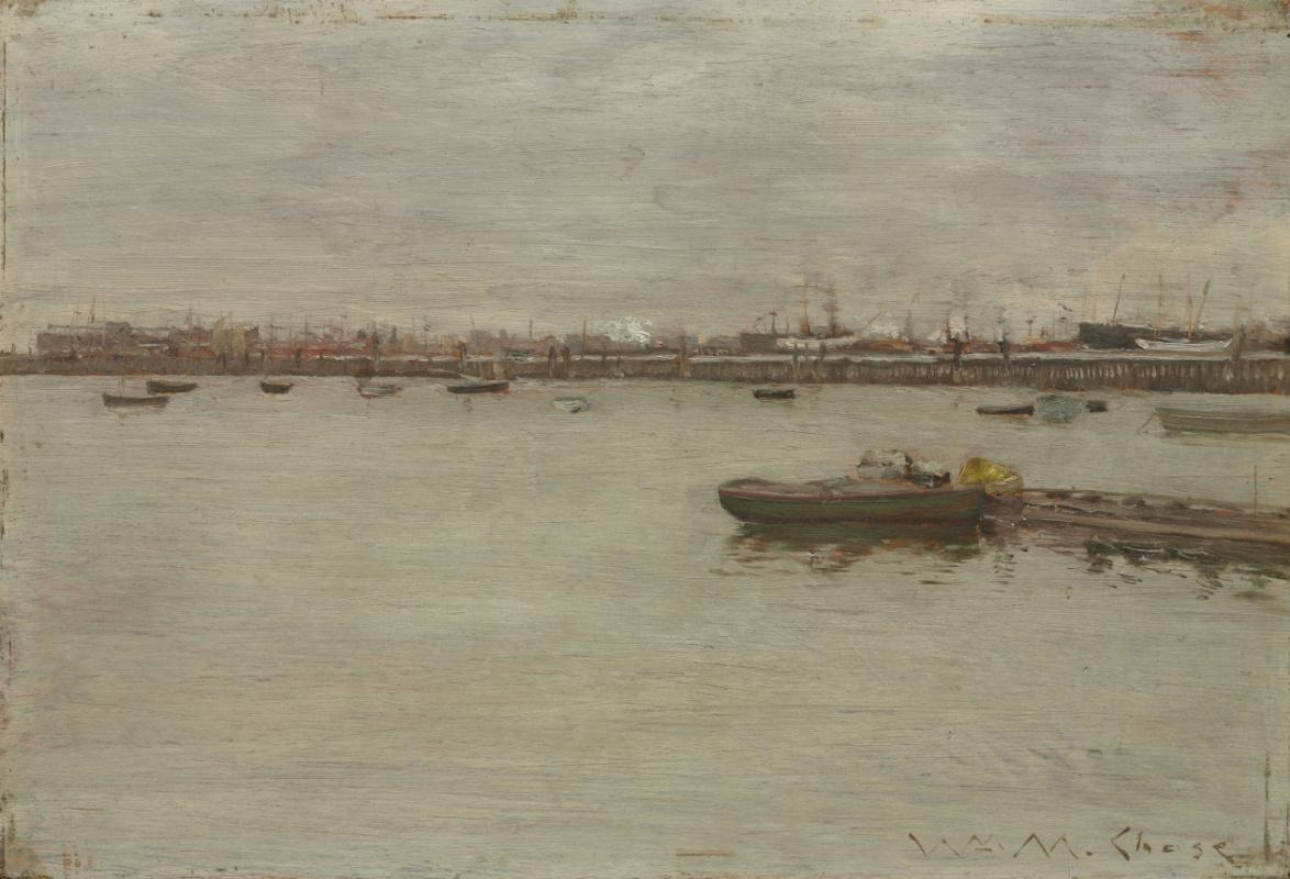 William Merritt Chase. Gray day on the Bay
