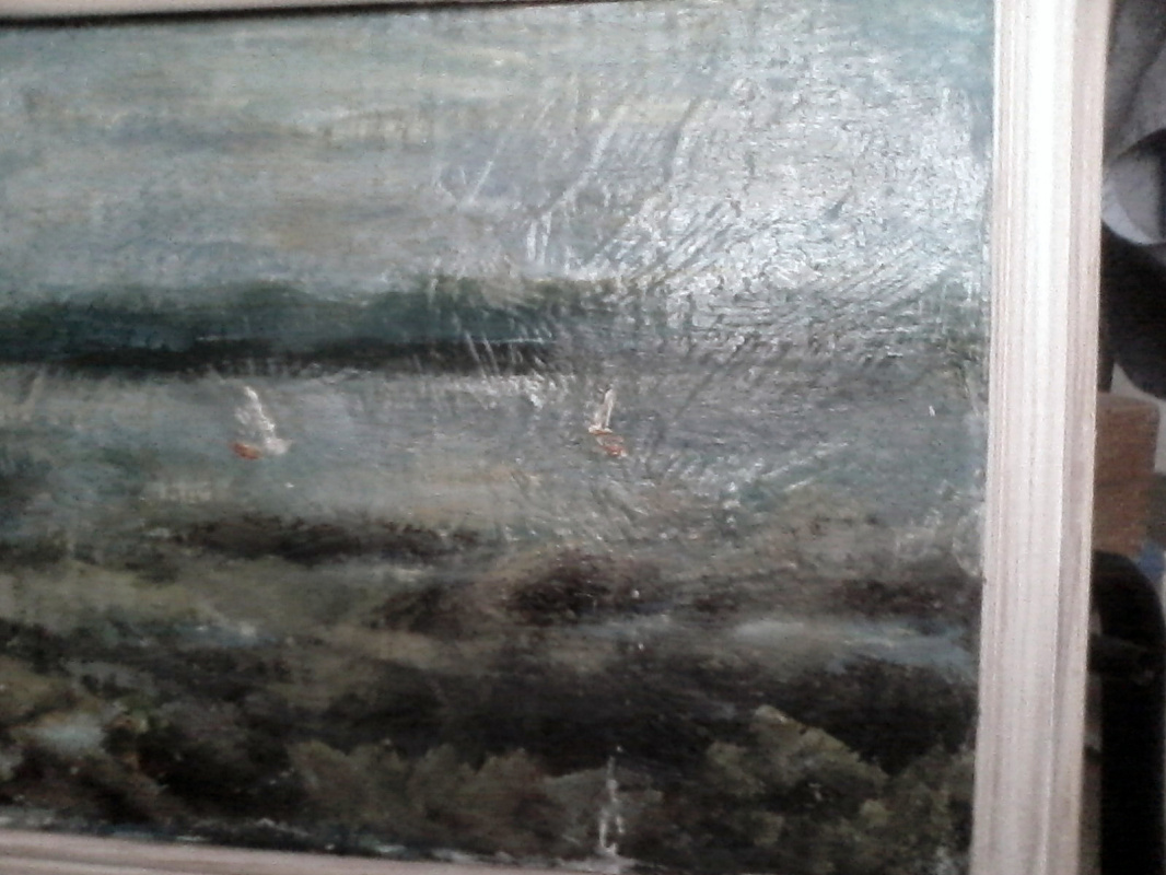 Unknown artist. Top-down from the White Mountains
