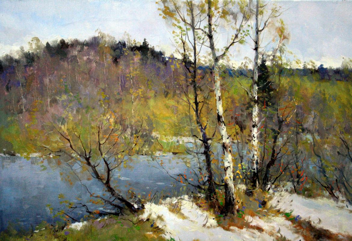 Alexander Markovich Kremer. Spring