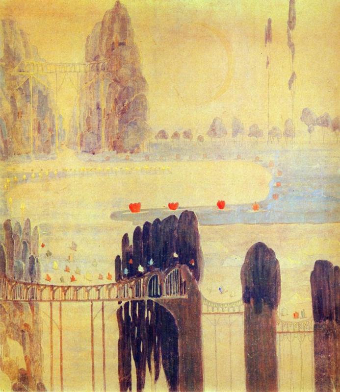 Mikalojus Konstantinas Ciurlionis. Sonata of the sun. Scherzo