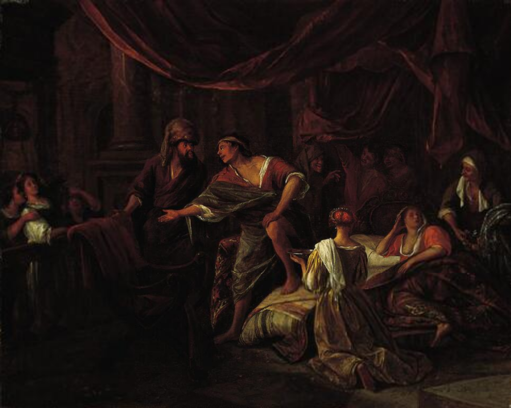 Jan Steen. James, contrary to Laban