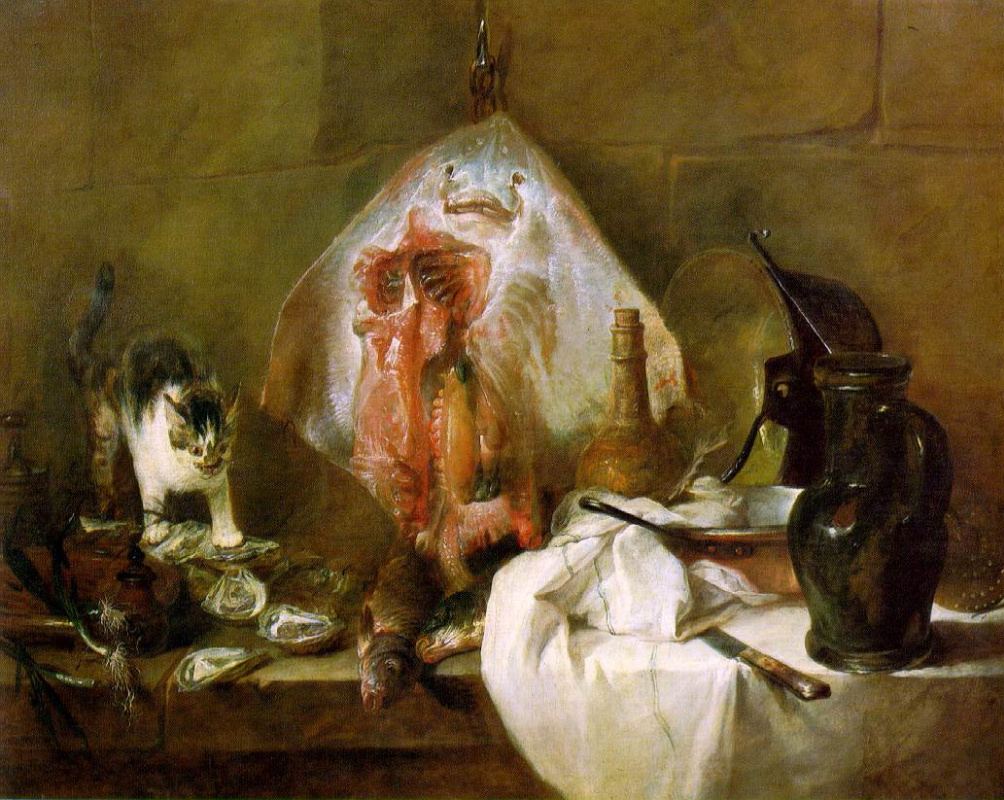 "proust essay on chardin ""a still life by chardin"" at lisson artists: marcel proust wrote in 1895: in against sainte-beuve and other essays, ed john sturrock, pp100-107."