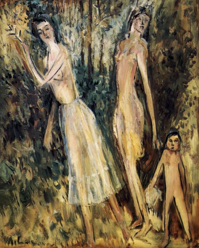 Mikhail Larionov. Spring