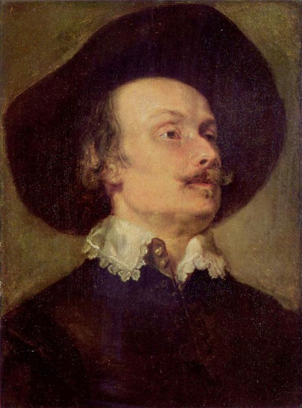 Антонис ван Дейк. Мужской портрет