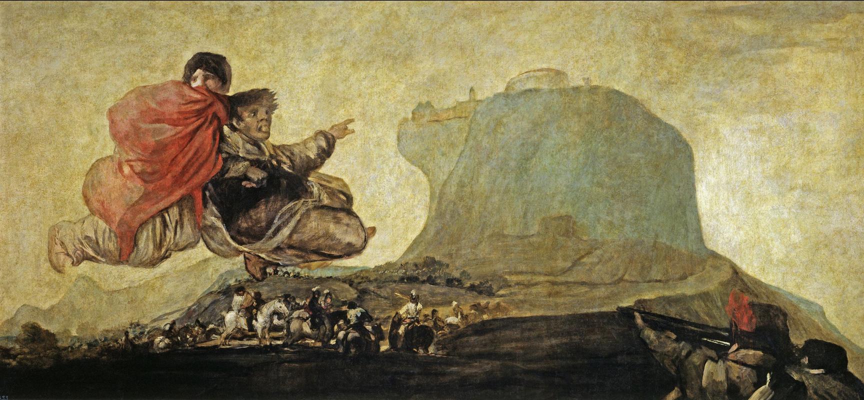 Франсиско Гойя. Асмодей, или Фантастическое видение