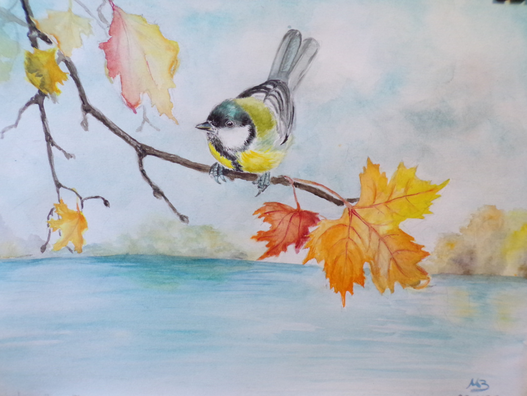Marina Gennadievna Zaichenko. A moment of autumn