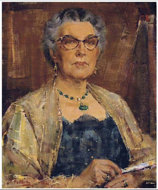Nikolay Feshin. Portrait Glendora Rollins.