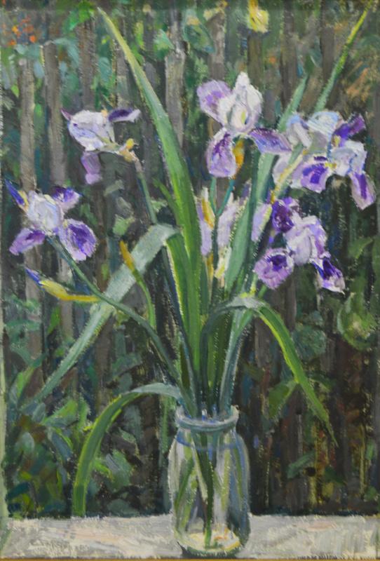 Ekaterina Vasilyevna Syromyatnikova. Irises