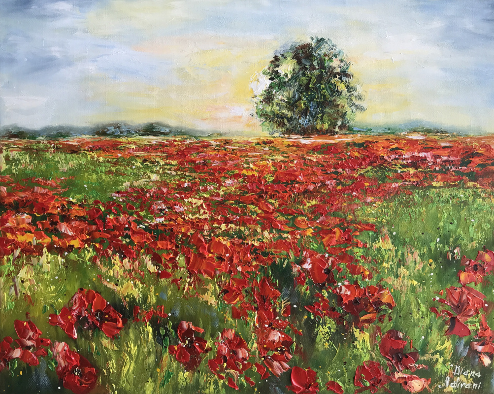 Диана Владимировна Маливани. Field of Poppies