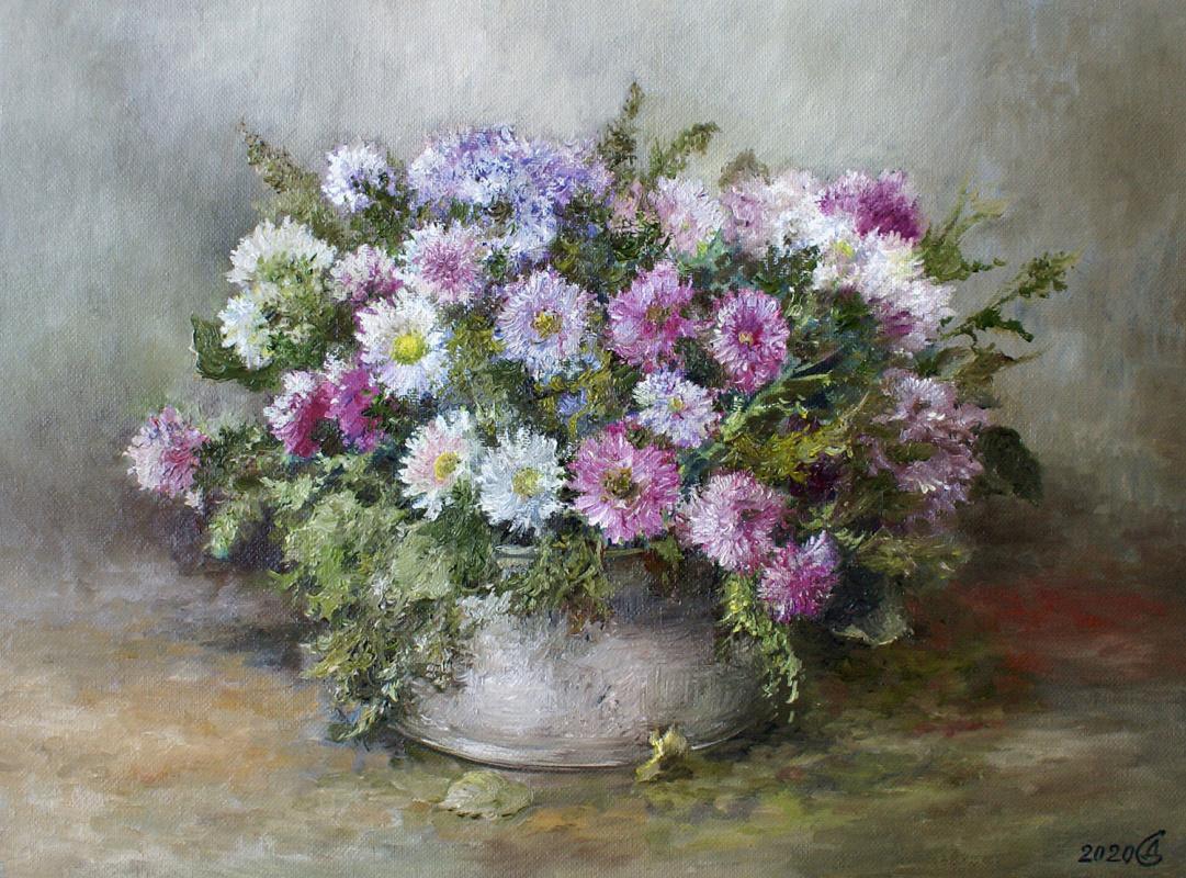 Сергей Владимирович Дорофеев. Bunch of daisies
