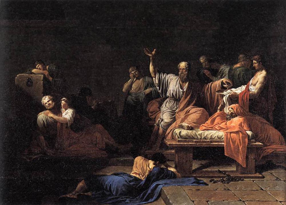 Jean-Francois-Pierre Peyron. The Death Of Socrates