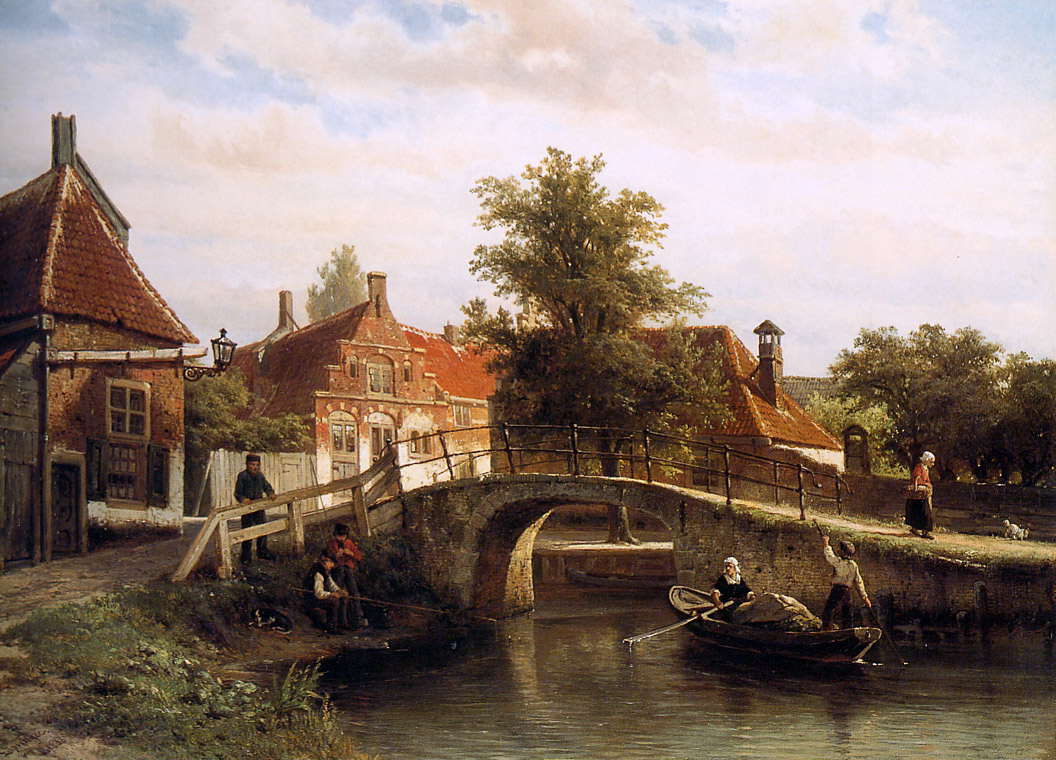 Cornelis Springer. View hotels