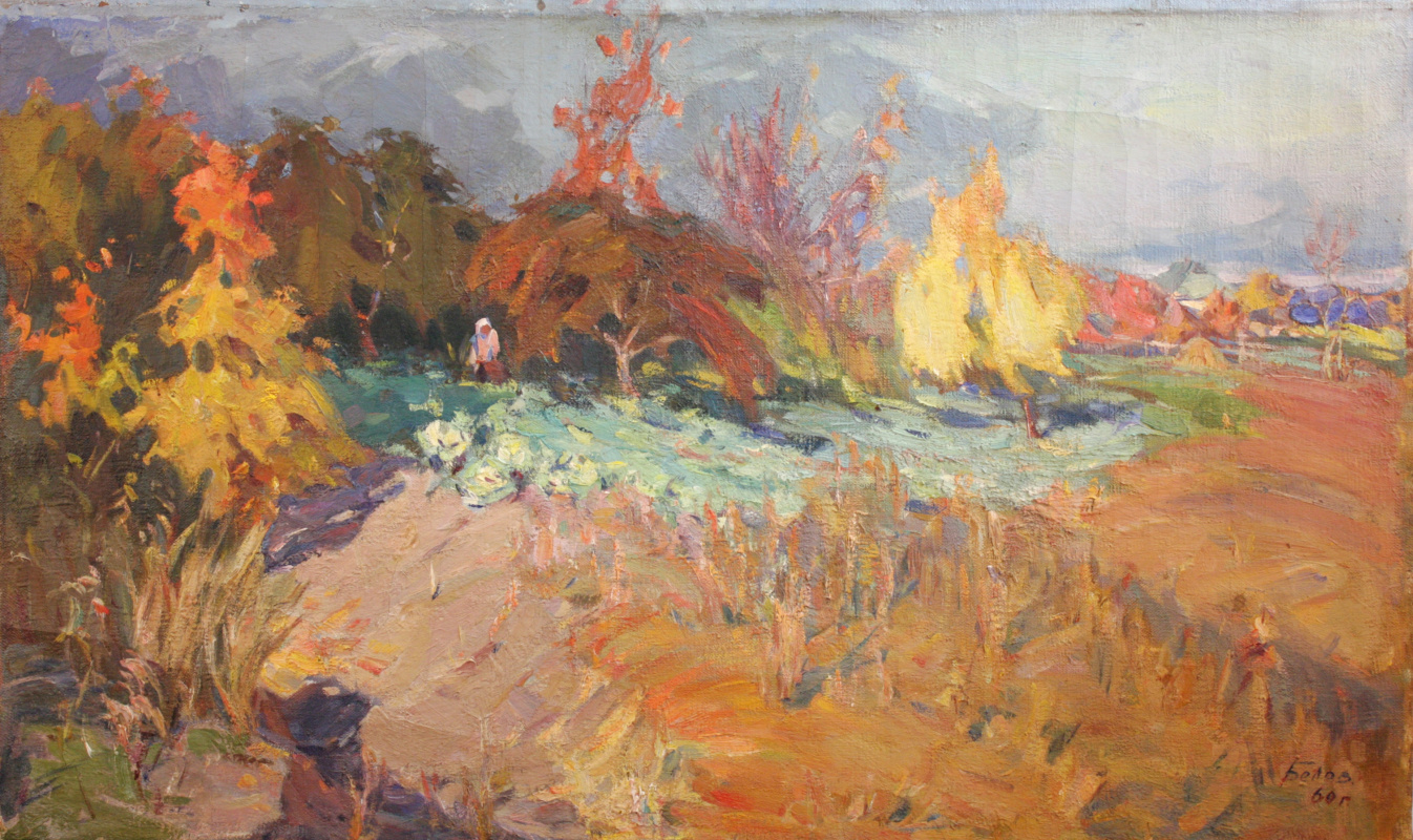 Victor Emelyanovich Belov. Autumn, harvest