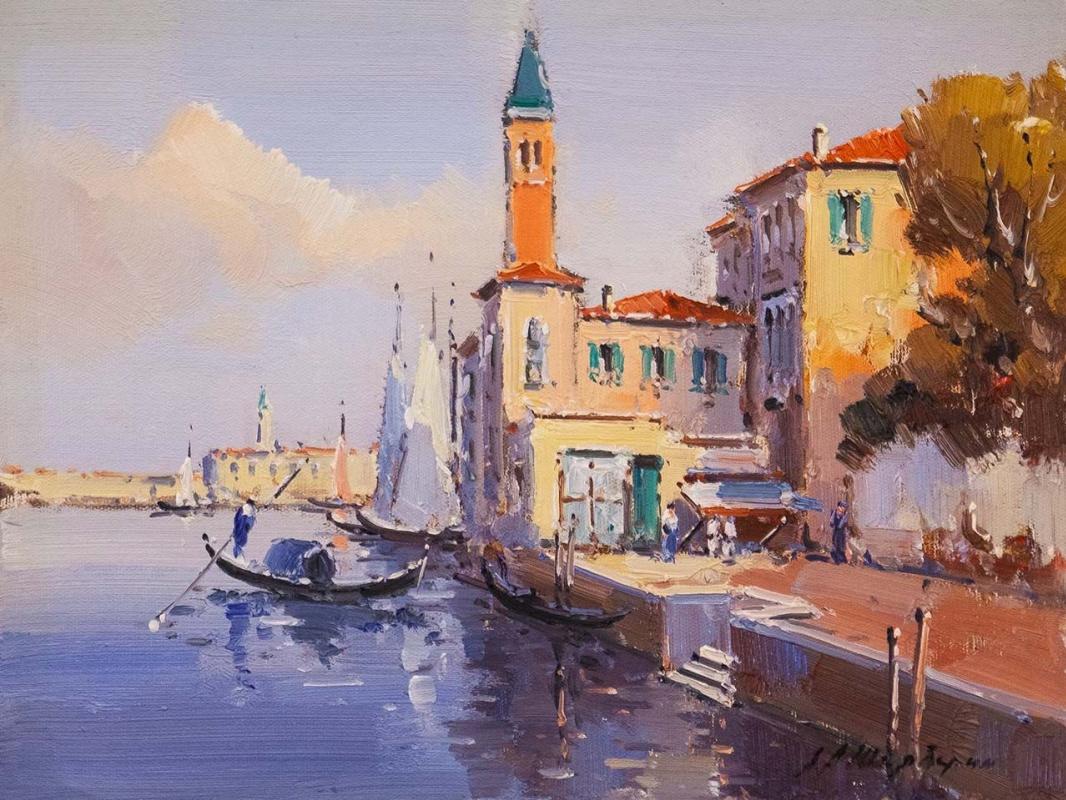 Andrey Sharabarin. Dreams of Venice N38