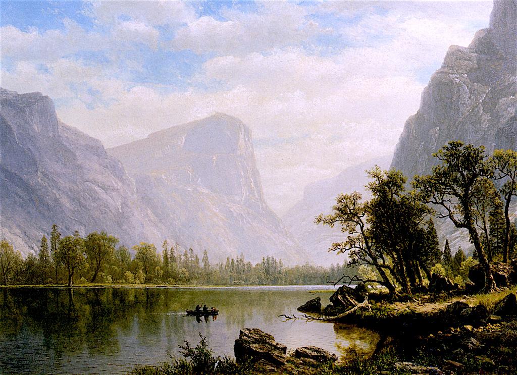 Альберт Бирштадт. Зеркальное озеро, долина Йосемити