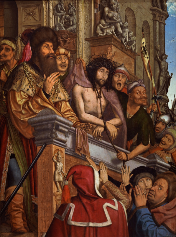 Quentin Masseys. Pilate shows Christ to the people