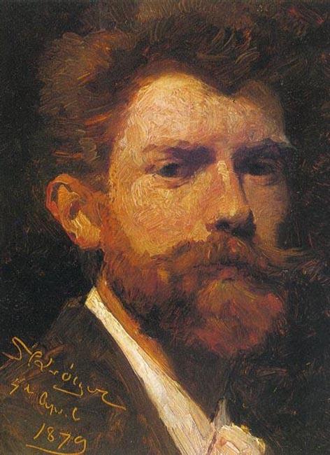 Peder Severin Krøyer. Self-portrait