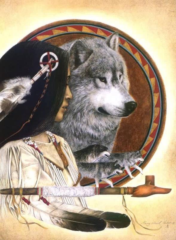 Табер Нанку Вуд. Песня волка