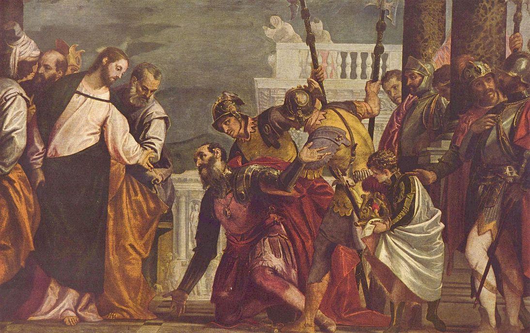 Паоло Веронезе. Христос и сотник