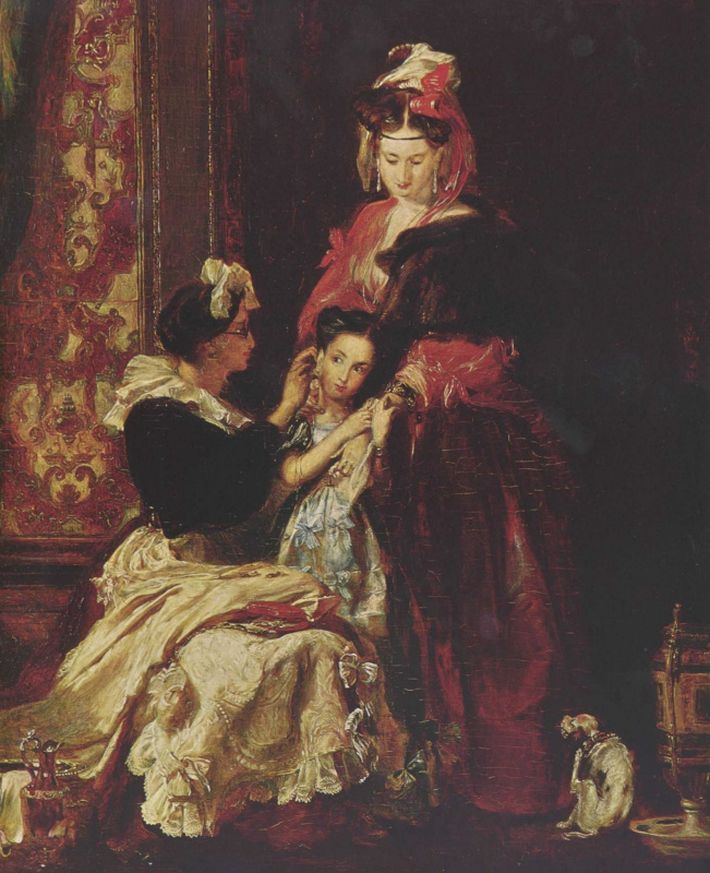 David Wilkie. The first earrings
